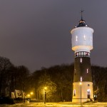 watertoren Coevorden verlicht in het kader van Orange The World